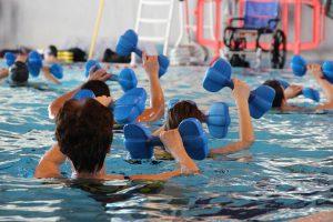 Aquarobic @ Schwimmbecken Maria Meeresstern