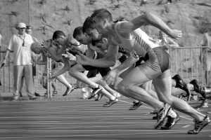 Leichtathletik Training für Fortgeschrittene/Wettkampf (ab 12 Jahre) @ Strand–Arena (im Winter in der Halle)