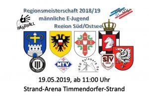Regionsmeisterschaften Handball männl.Jugend - E @ Strand-Arena